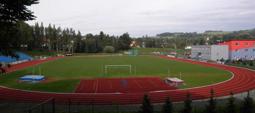 Kotline stadium's pitch