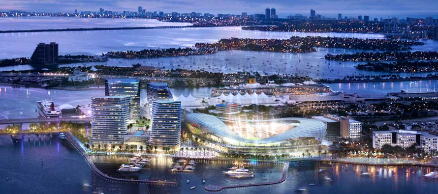 Miami MLS concept at night