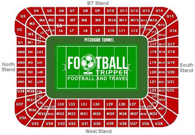 Millennium Stadium Seating Plan