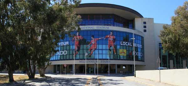 Main entrance of Ta' Qali Stadium