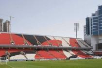 Inside Al Jazira Stadium