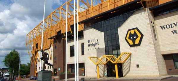 Exterior of the Billy Wright Stand