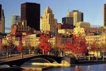 Montreal during the autumn