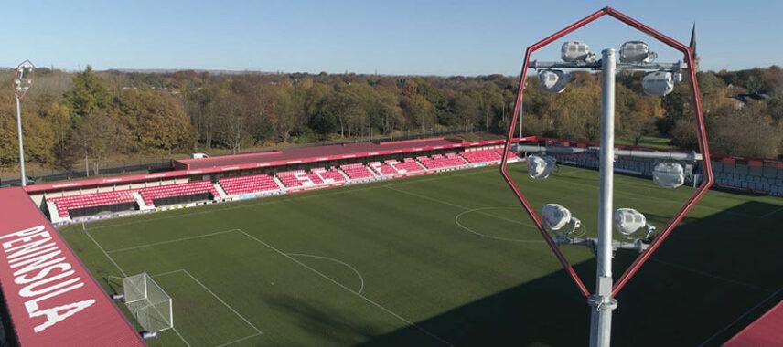 Inside Salford City's Stadium