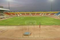Interior of Mubarak Al-Aiar Stadium