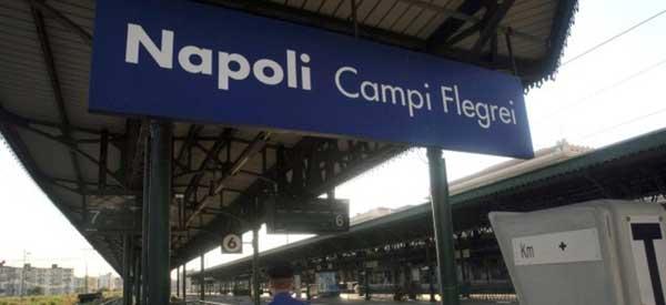 Inside Napoli Campi Flegrei station