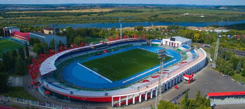 neftyanik Stadium in UFA