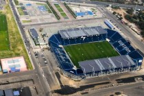 Aerial view of the new I-Mobile Stadium