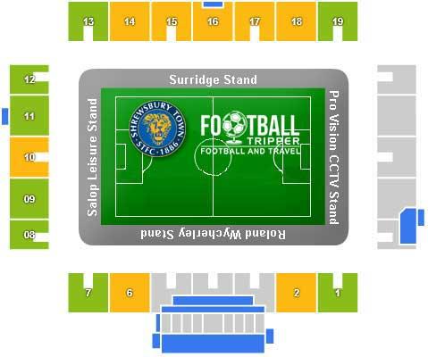 New Meadow Stadium Seating Plan