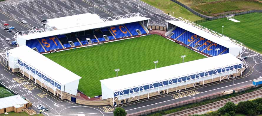 aerial view new meadow stadium