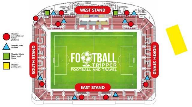 New York Stadium Rotherham Seating Plan