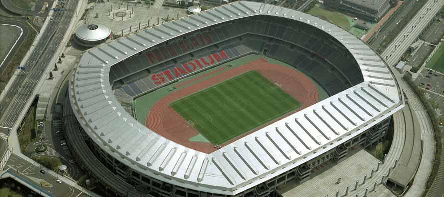 Aerial View of NissanStadium