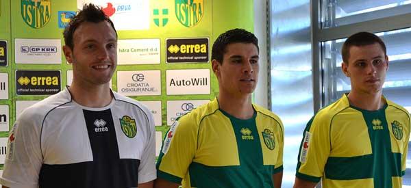 NK Istra new kits revealed club shop