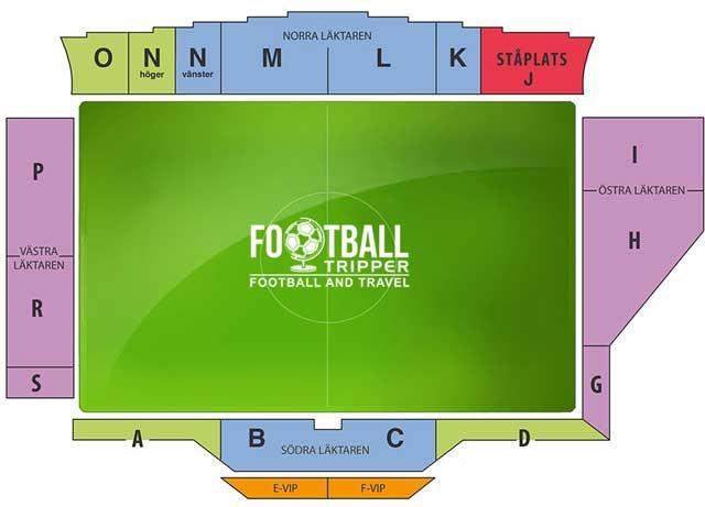 Norrporten Arena seating chart