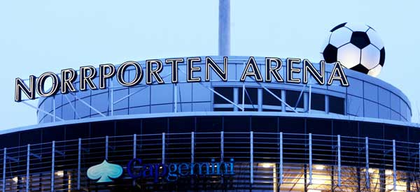 Norrpotern Arena sign