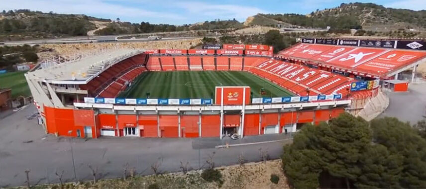 Aerial view of Nou Estadi de Tarragona