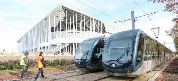 Nouveau Stade Bordeaux Tram