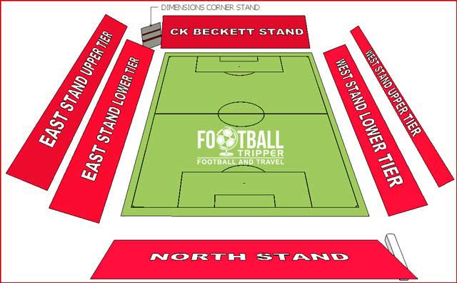Oakwell Stadium Seating Plan