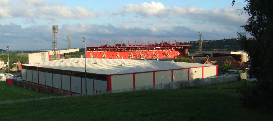 inside oakwell stadium