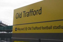Old Trafford Metrolink Sign