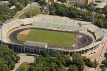 aerial view of stadion vorskla