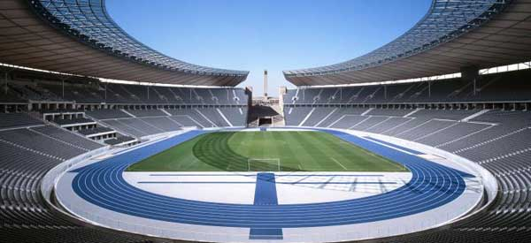 Inside Berlin's Olympic Stadium