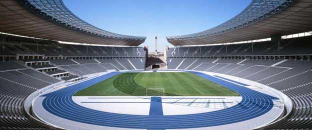 Symmetry of the Olympiastadion