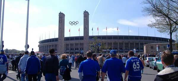 Exterior Olympiastadion Berlin