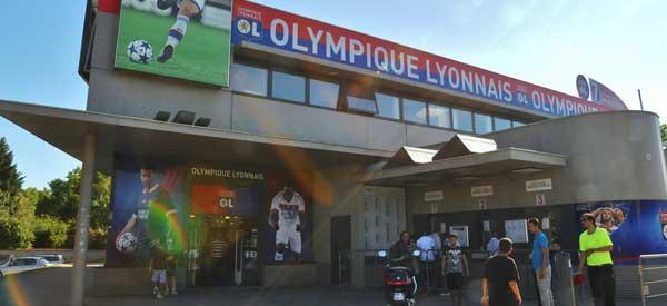 Exterior of Olympique Lyon Club Shop