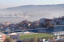 Aerial view of Omladinski Stadium