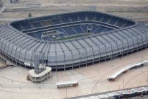 Aerial view of Orlando Stadium, South Africa