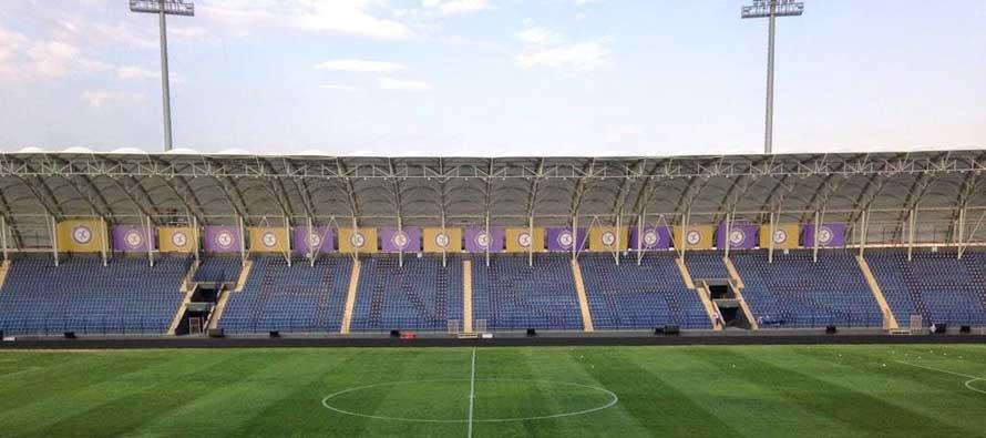 Main stand of Osmlani stadium