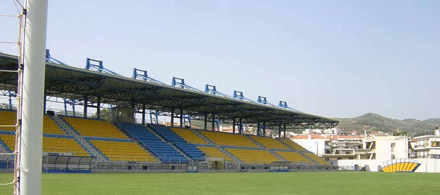 Interior of Panetolikos Stadium