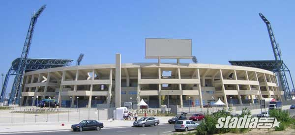 Another outside look at Pankrito Stadium