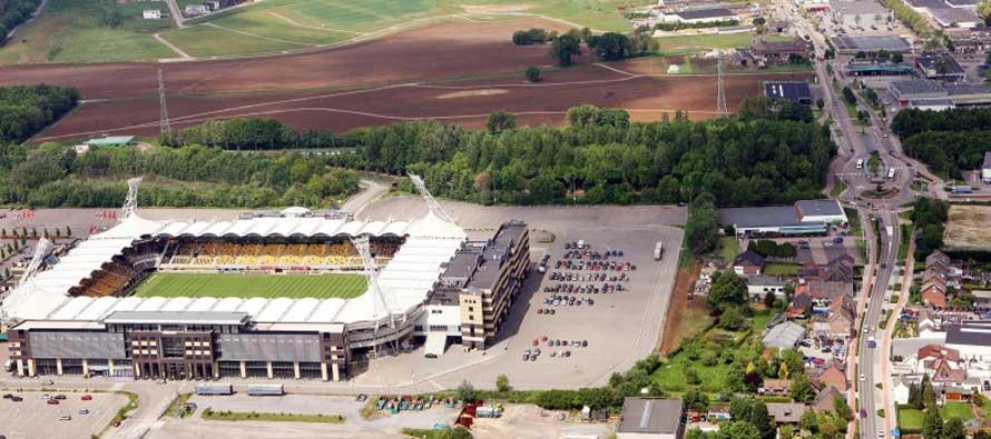 aerial view of Parkstad Limburg Stadion