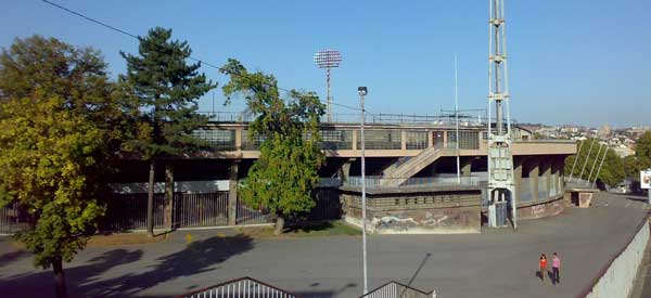 Partizan Stadium east stand