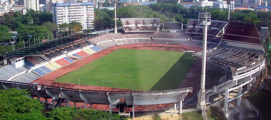 Aerial view of Perak sports Stadium