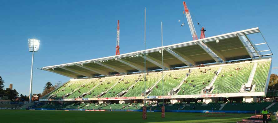 Perth Oval Stadium Main Stand