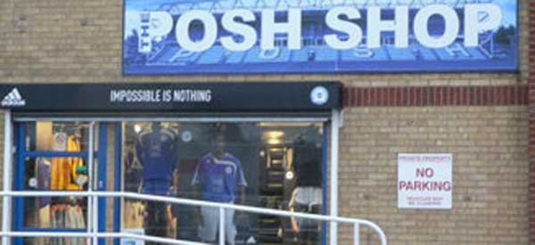 Did you that the word Posh is Shop backwards? Well, almost...