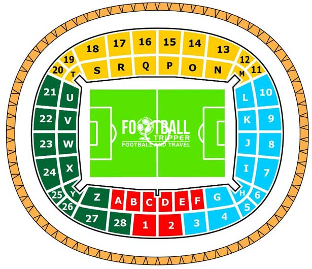 PGE Arena Gdańsk seating map