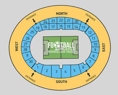 Macedonia National Stadium Seating Plan