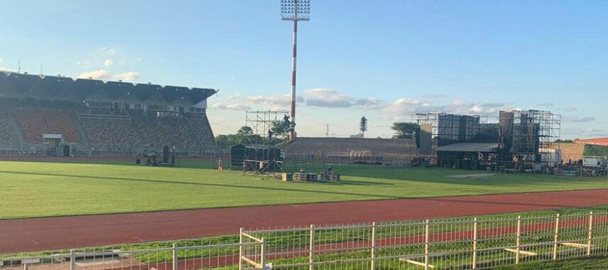 Inside of old Pietersburg Stadium