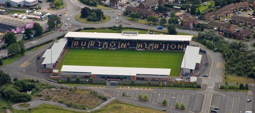 Inside Pirelli Stadium Burton