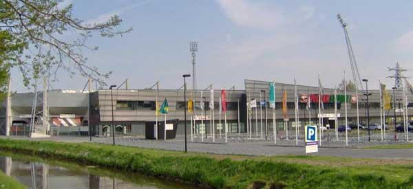 Exterior of Polman Stadion