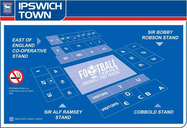 Portman Road Seating Plan