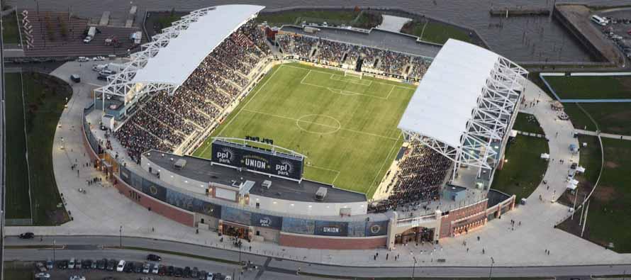 Aerial View of PPL Stadium