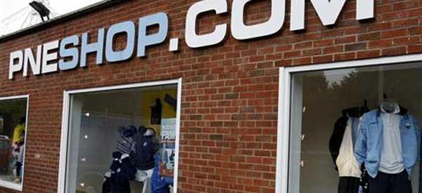 Preston North Ends Club Shop