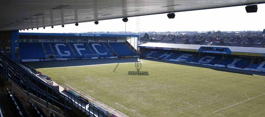 Priestfield Stadium's Pitch