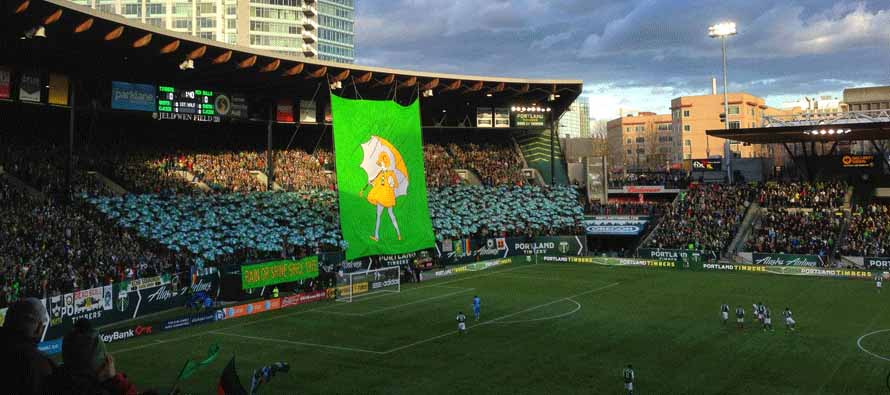Portland Timber Ultras at Providence Park