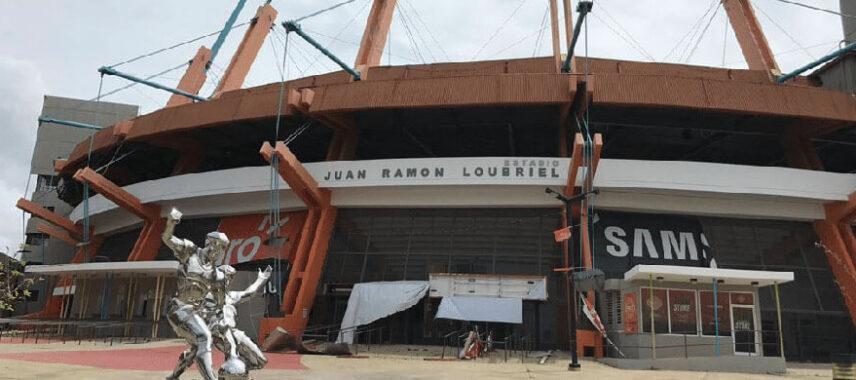 Exterior of Estadio Juan Ramón Loubriel